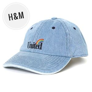 "H&M Cotton ""United"" Pride Dad Hat 🌈"